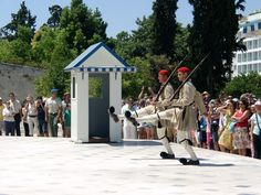 Athen: Sytagma-Evzones