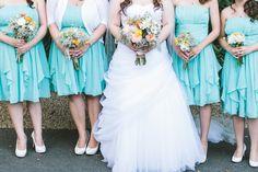 Tourquoise Bridesmaid Dresses