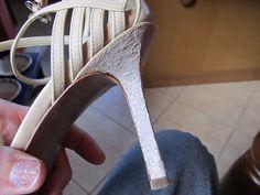 WobiSobi: Project Re-Style #47 Glitter Heel Fix