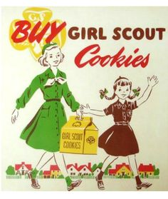 10 Things You Didn't Know About Girl Scout Cookies © Mom.me §§ Home Baked §§ Did you know that Girl Scout cookies used to be home baked? The troop members baked sugar cookies in their homes and sold them to raise money.