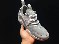 2d4949c85605 Calm Nike Air Huarache Run Ultra BR Wolf Grey White Womens Mens Footwear Running  Shoes