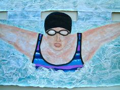 HMT Mixed Media Artist: Swimmers