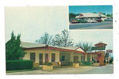 Sunset Court And Restaurant U S 65 Marshall Ar Searcy County Postcard 100614 Ebay