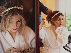 Tulle - Acessórios para noivas e festa. Arranjos, Casquetes, Tiara | ♥ Mariana Borges