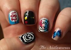 Blink 182 nails...