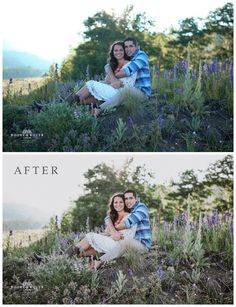 Rooke & Rover Crew Presets. Before And After.