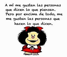 Imágenes de Mafalda con frases   Fotos para Facebook   Portadas ...