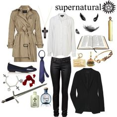 I would totally be Castiel for Halloween but I promise, not one person would know who I was. Hahaha!
