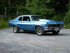 1973 SS Chevy Nova, driven and owned by my son Jeremy