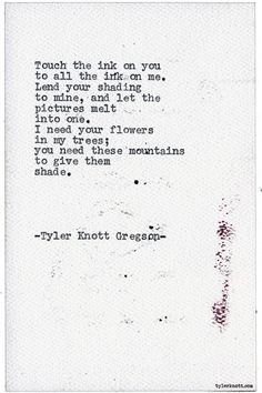 Typewriter Series #1765 by Tyler Knott Gregson Need a Life Reboot? Want to discover new creativity, joy, compassion and inspiration? Want to find yourself? Come take our Miracle in the Mundane Course! chasersofthelight.com to sign up and hear more!