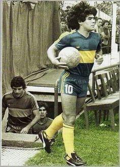 Maradona Boca Juniors