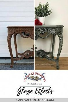 Product Feature: General Finishes Glaze Effects – Captiva Home Decor What is Decoration? Decoration could … Distressed Furniture, White Furniture, Rustic Furniture, Vintage Furniture, Cool Furniture, Modern Furniture, Furniture Design, Furniture Ideas, Outdoor Furniture