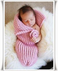 Yeni Doğan Bebekler için Örgü Uyku Tulumu Örnekleri 6