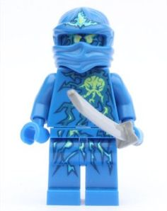 LEGO Ninjago - NRG Jay with Sword (Shamshir) by LEGO. $18.79. Item removed from a larger LEGO set and re-bagged.. Figure is less than 2 inches tall.