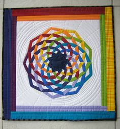 """The quilt I got from Julie for the """"Little Quilt - Sew, Vo… 