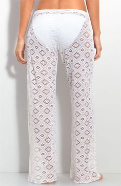 Becca Crochet Cover-Up Pants
