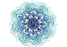 "Lotus ""Mandala"" Tattoo /""- really like that it's in color"