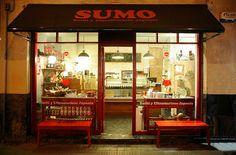 Sumo en Bilbao: sushi take-away y ultramarinos japonés, en Pozas y Ledesma.