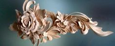 grinling gibbons wood carving/images | Rose Carved in Grinling Gibbons style « Architectural Wood Carving ...