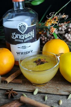 Holiday Honey Punch