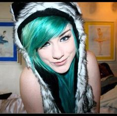 wolf hat/spirit hood:) this hat i want!! :(