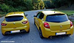 When Atmosphere meets Turbo #Renault #clio RS #Trophy