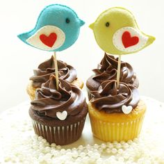 @brooke poplin I wish you could use these love birds toppers