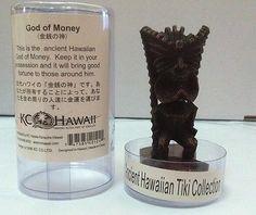 "Ancient Hawaiian Tiki Collection ""God of Money"" Tiki Decorative Statue/Figurine"