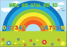 Making 10 rainbow 1st Grade Math, Grade 1, French Class, Making 10, Teaching French, Number Sense, Little People, Math Activities, Fun Learning