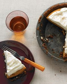 Pumpkin Cream Pie - Martha Stewart Recipes