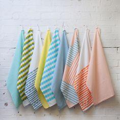 Kangan Arora tea towels for Heal's