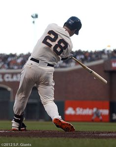 Buster Posey to whom my heart belongs!
