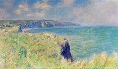 Bord des falaises de Pourville, Monet
