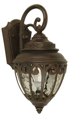View the Craftmade Z3814 Olivier 3 Light Outdoor Wall Sconce - 10 Inches Wide at LightingDirect.com.