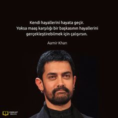 Aamir Khan, Happiness Challenge, Important Quotes, Good Sentences, Wonder Quotes, Good Notes, Meaningful Words, Famous Quotes, Cool Words