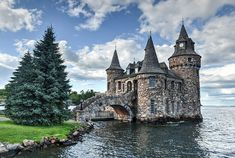 Power House of Boldt Castle in Thousand Islands New York, USA