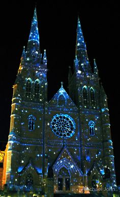 Christmas in St Mary's Cathedral, Sydney, Australia