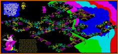Paul Dunn map for Knight's Lore on the Spectrum
