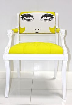 One or two bold statement chairs keep the room feeling personal and light-hearted.