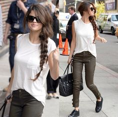 Selena Gomez ; style for being 21 is incredible and beautiful