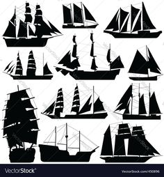 old ship silhouette background. Download a Free Preview or High Quality Adobe Illustrator Ai, EPS, PDF and High Resolution JPEG versions.