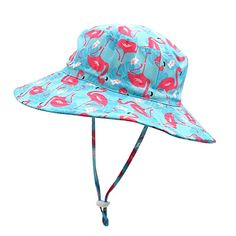 Hisharry Toddler Boy Bucket Hat Cute Baby Girl Kids Sun UV Protection Shark Animal Hat