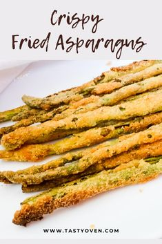 Fried Asparagus Sticks are made with a cornmeal batter and pan fried until crispy brown, just like southern fried okra. Pan Fried Asparagus, Sauteed Asparagus Recipe, Asparagus Side Dish, Grilled Asparagus Recipes, Asparagus Spears, Asparagus Casserole, Parmesan Asparagus, Burger Side Dishes, Healthy Side Dishes