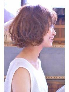 くせ毛でも可愛い♡ショートボブでアレンジ!愛されヘアに♡の画像
