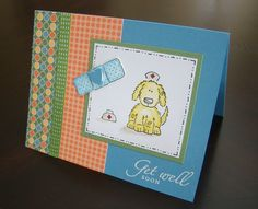 Bow Wow Get Well Card