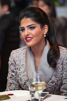 Princess Amira Al Taweel Beautiful Makeup At The Official Launch Of Buro In Azerbaijan