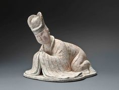 Courtisant - Dynastie Tang (600-900) Chine