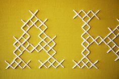 oversized cross stitch