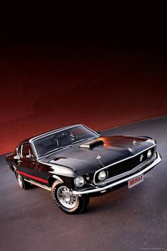 1969 Ford Mustang, favorite car ever.