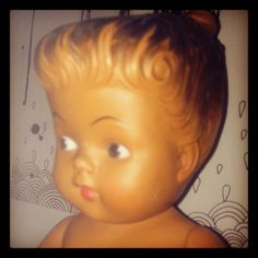 Vintage doll. We had this one!